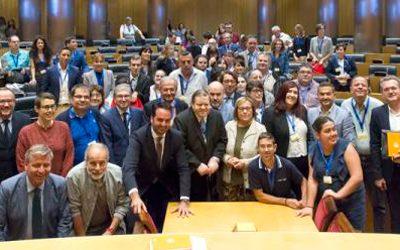 Personas con discapacidad inteletual de toda España reivindican sus derechos en el Congreso de los Diputados