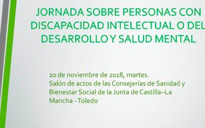 Jornada sobre personas con discapacidad intelectual y salud mental