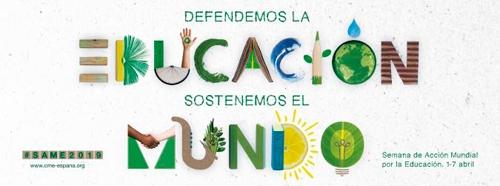 ¿Preparados para la Semana de Acción Mundial por la Educación (SAME) 2019?