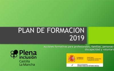 Plena inclusión CLM lanza su oferta de formación 2019