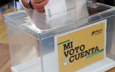 Disponible el manual de mesa electoral en lectura fácil