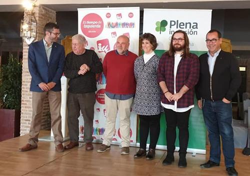 Presentación del programa electoral de Izquierda Unida Castilla-La Mancha en lectura fácil