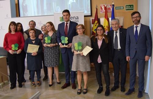 Plena inclusión entrega los primeros 'Premios de Empleo Público y Discapacidad Intelectual' destinados a administraciones públicas