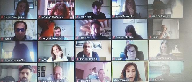 El equipo de gerentes de la federación se reúne para tomar el pulso a la situación del movimiento asociativo