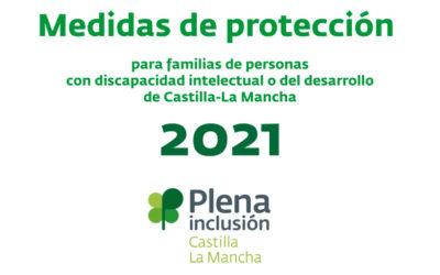 Plena inclusión CLM edita una guía con medidas de protección para familias de personas con discapacidad intelectual en Castilla-La Mancha
